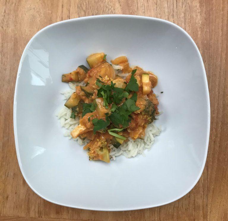 """Curry végétarien """"express"""""""